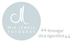 Mia Lewell, fotograf logga Bröllopsmässan 2015