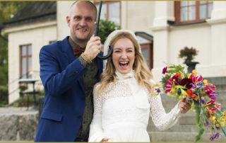 glatt bröllop